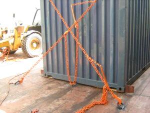 container vastzetten
